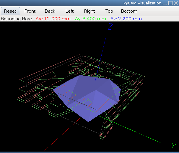 Screenshot of Polygon Cutter 3D View